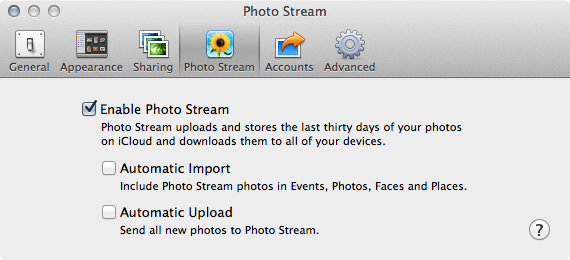 how to open the dropbox import photos