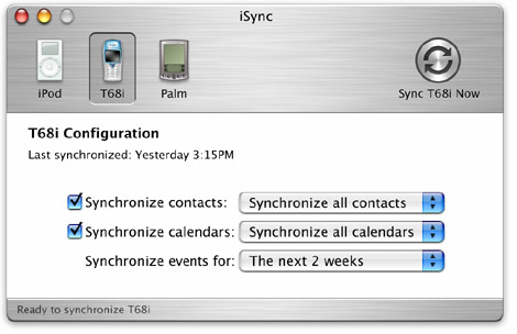 iSync beta