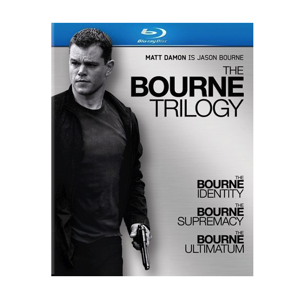 The Bourne Trilogy on Blu-ray