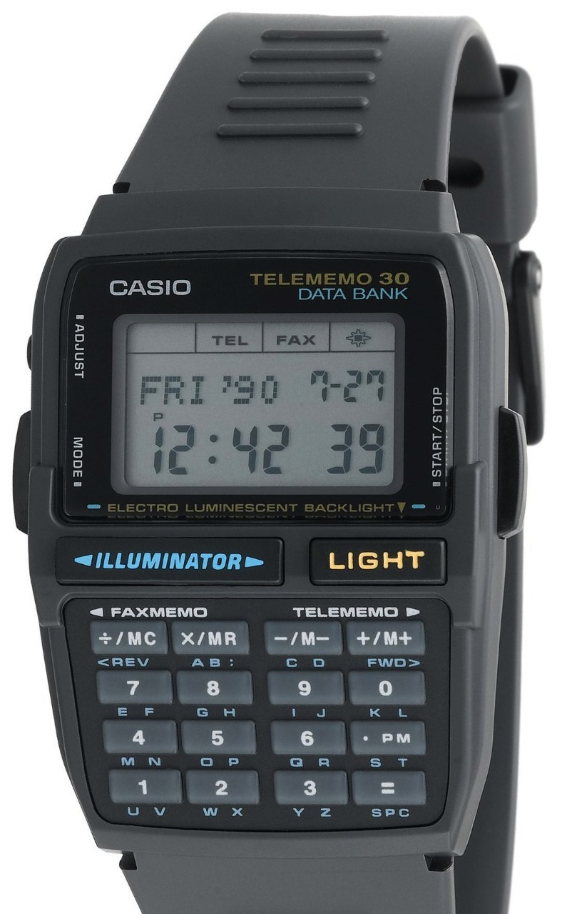 Casio Men's DBC30-1 Databank Digital Watch