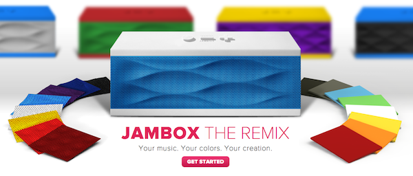 Jawbone's JAMBOX THE REMIX