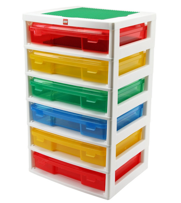 LEGO 6-Case Workstation and Storage Unit