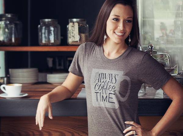 'It's Always Coffee Time' Tee