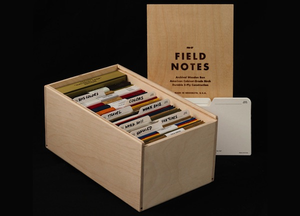 The Field Notes Archival Wooden Box